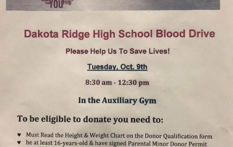 The Annual Blood Drive Makes Its Return This Year