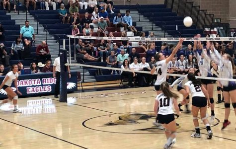 D-Ridge Volleyball Spikes Down Arvada