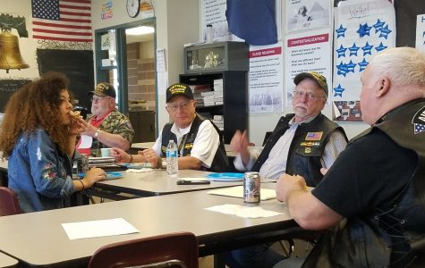 Vietnam Veterans at Dakota Ridge High School