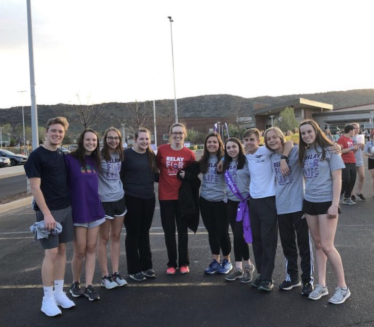 DRHS Relay Team 2019.  Photo credit:  Jessica Koehler