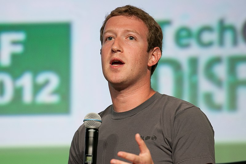 Mark Zuckerberg. Photo credits: Wikimedia Commons.