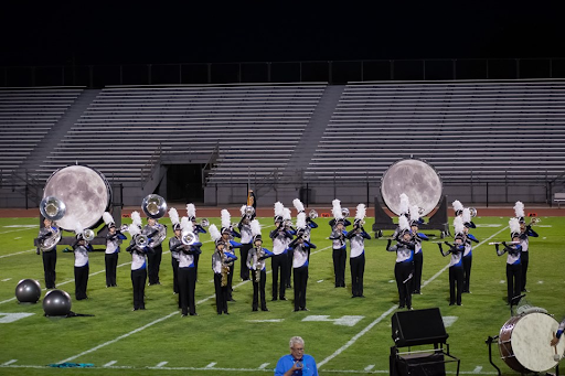"Dakota Ridge High School Screamin' Eagles Marching Band performs their 2019 show ""Luna"" directed by Dylan Ford."