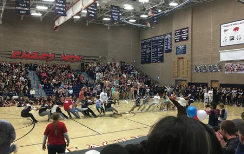 Homecoming Pep Rallies Students