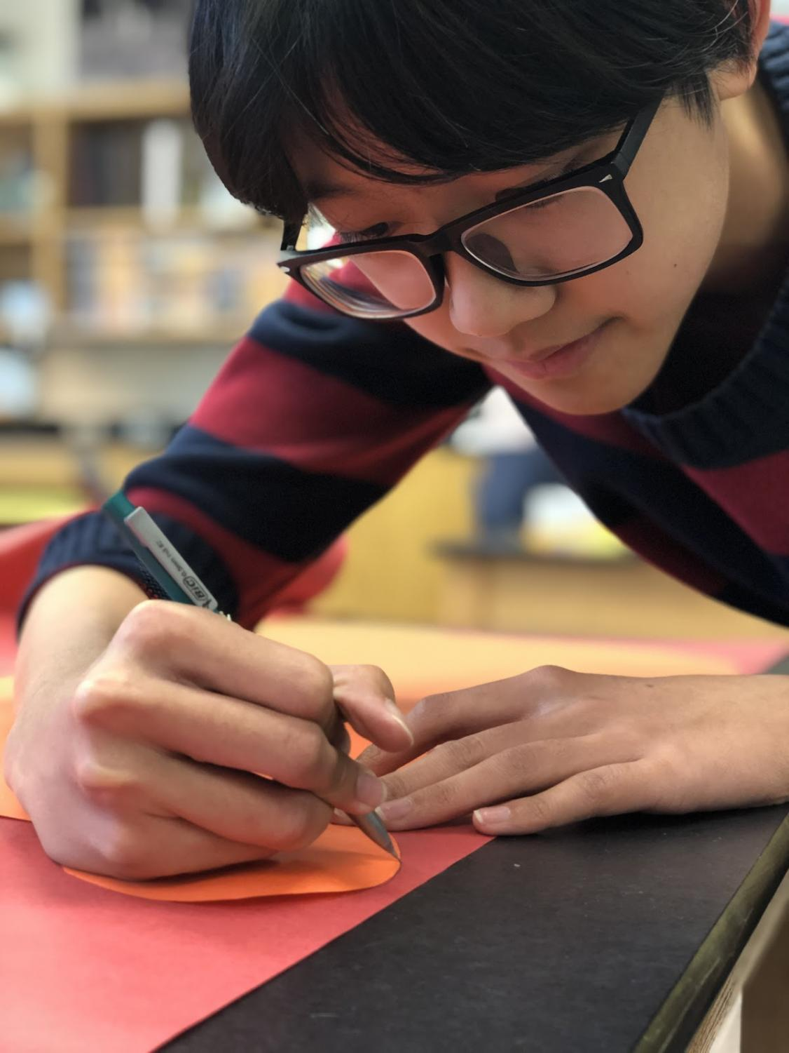 """""""Freshman year, Key Club helped me come out of my shell,"""" Bui says on the lasting impression Key Club gave to him. """"I'm a lot more confident in myself."""" This confidence has helped Bui strengthen the club through his new leadership role."""