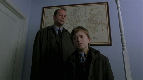 The Sixth Sense obtains its iconicism through its use of psychological frights, empathy-provoking characters, and a massive twist ending that leaves the audience shocked.