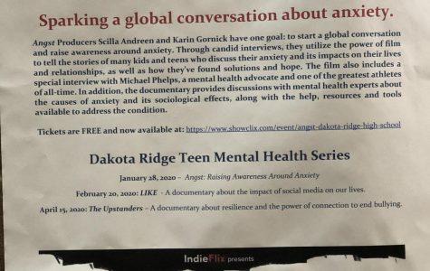 A Teen Mental Health Series Comes to Dakota Ridge January 28th