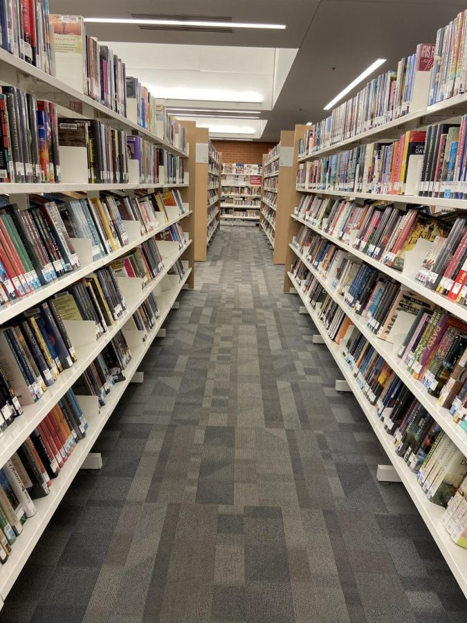 Within the aisles of the Columbine Public Library, it is filled with new book editions, as well as old classics.