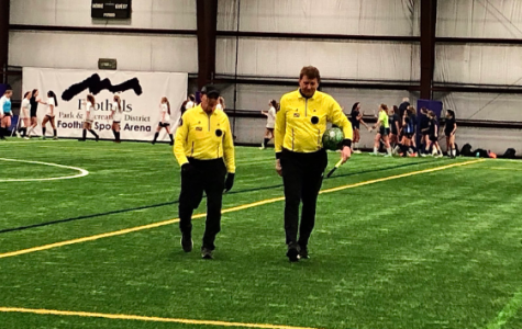 Dakota Women's Soccer Team Loses to Columbine During Preseason Indoor Game