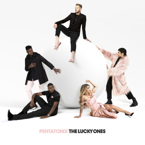 "The album cover for ""The Lucky Ones"" captures the creativity and pop of the new release for the acapella group Pentatonix on February 12th, 2021."