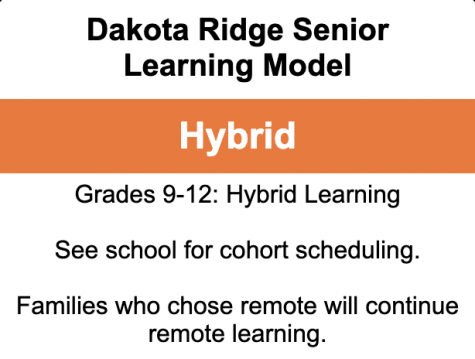 Dakota Ridge Reopens For Hybrid Learning