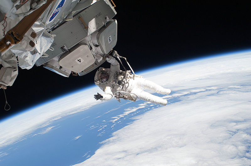 On March 5, 2021 astronauts completed repairs and upgrades on the international space station by performing a space walk. (Above is Nicholas Patrick on a seperate space walk).