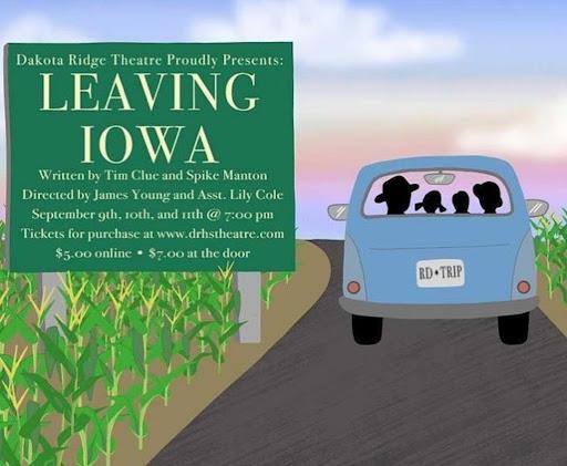 Leaving Iowa kicks off this year's theatre season starting Thursday evening.