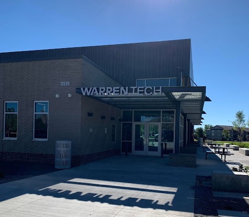 The new Warren Tech building is ready and active with students and faculty as they start their first semester.